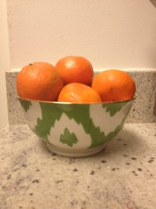 Picked up some yummy tangerines the other day