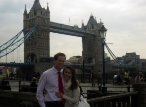 A picture from our honeymoon in Europe <3